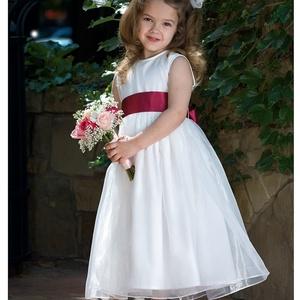 Koszorúslányka ruha, Esküvő, Koszorúslány ruha, Ruha, Koszorúslányka ruha 80-158-as méretig, készítem bármilyen színben. , Meska