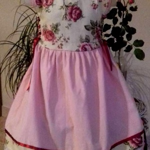 Rózsás ruha (peteryeva) - Meska.hu