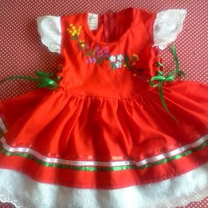 Kézzel hímzett lányka ruha boleróval (peteryeva) - Meska.hu
