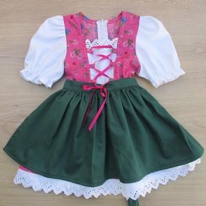 Tradicionális bajor népviselet ...trachten lányka ruha, Ruha, Babaruha & Gyerekruha, Ruha & Divat, Varrás, Tradicionális bajor népviselet ...trachten lányka ruha köténnyel. 80-146 os méretig készítem...., Meska