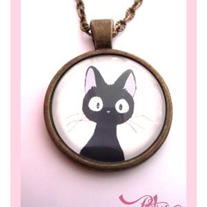 Macska Cica nyaklánc Macskás Cicás Fekete , Ékszer, Nyaklánc, Medálos nyaklánc, A  macskák nagy kedvenceim, sok szeretetet adnak, ha szeretetet kapnak...Egyetértek Leonardo da Vinc..., Meska