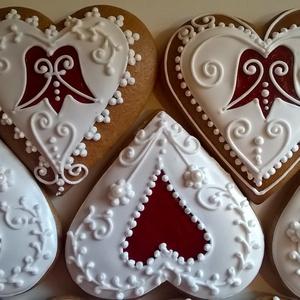 Szív  - élelmiszer - édesség - Meska.hu