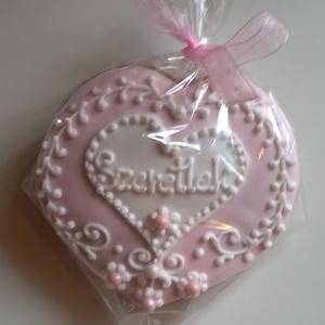 Rózsaszín szív - élelmiszer - édesség - Meska.hu