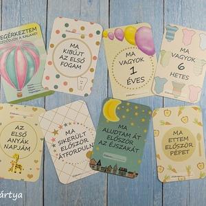 Baba fotó kártya - bézs - midi csomag (32 db) - babaváró ajándék, Készségfejlesztő & Logikai játék, Játék & Gyerek, Fotó, grafika, rajz, illusztráció, Baba fotó kártya - bézs - midi csomag (32 db) - babaváró ajándék\n\nSaját szerkesztésű fotó kártyák (m..., Meska
