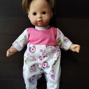 40-45 cm-es játékbaba ruha, rugdalózó ( hercegnős ), Játék & Gyerek, Baba & babaház, Babaruha, babakellék, Varrás, Játékbaba ruha ( hercegnős ) : 40-45 cm-es játékbaba rugdalózó, hátul tépőzárral záródik, anyaga pam..., Meska