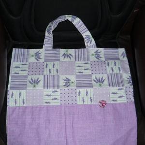 Textil bevásárlótáska! Levendulás (Pilike76) - Meska.hu