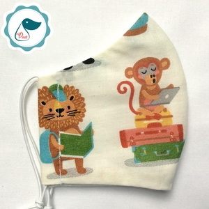 AKCIÓ - Egyedi szájmaszk - gyerek szájmaszk -oroszlános, textil szájmaszk - egészségügyi szájmaszk - mosható szájmaszk, Gyerek & játék, Baba-mama kellék, Táska, Divat & Szépség, Szépség(ápolás), Maszk, szájmaszk, Baba-és bábkészítés, Varrás, Egyedi, mintás, mosható egészségügyi gyerek szájmaszk 3-6 éves korig.\n\nA szájmaszk különlegessége, h..., Meska