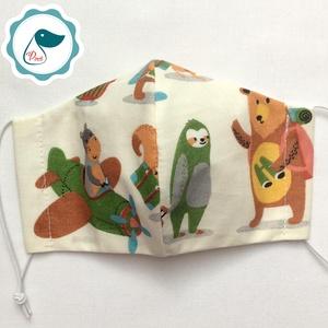 AKCIÓ - Egyedi szájmaszk - gyerek szájmaszk - textil szájmaszk - egészségügyi szájmaszk (Pindiart) - Meska.hu