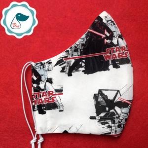 Maszk - egyedi szájmaszk - Star Wars - férfi szájmaszk - textil szájmaszk - egészségügyi szájmaszk (Pindiart) - Meska.hu