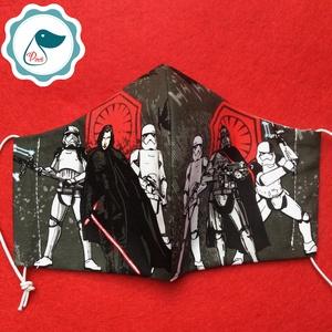 Egyedi szájmaszk - Star wars- kiskamasz szájmaszk - textil szájmaszk - egészségügyi szájmaszk - mosható szájmaszk (Pindiart) - Meska.hu