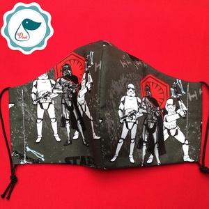 Egyedi szájmaszk -Star Wars- férfi mintás szájmaszk - textil szájmaszk - egészségügyi szájmaszk (Pindiart) - Meska.hu