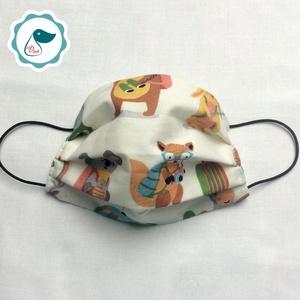 AKCIÓ - Egyedi szájmaszk - gyerek- szájmaszk - textil szájmaszk - egészségügyi szájmaszk (Pindiart) - Meska.hu