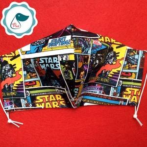 Egyedi szájmaszk - Star Wars - férfi szájmaszk - textil szájmaszk - egészségügyi szájmaszk (Pindiart) - Meska.hu
