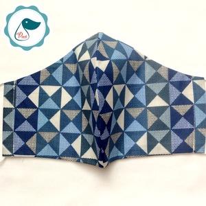 Egyedi arcmaszk - apsztrak mintás férfi maszk - textil szájmaszk - egészségügyi szájmaszk - mosható szájmaszk (Pindiart) - Meska.hu