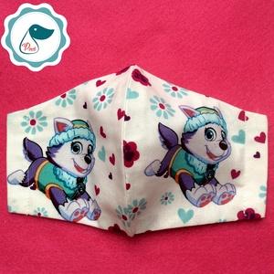 Egyedi - mancsőrjáratos maszk - gyerek arcmaszk - textil szájmaszk - egészségügyi szájmaszk - mosható szájmaszk (Pindiart) - Meska.hu