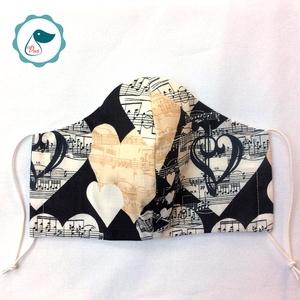 Egyedi szájmaszk - felnőtt női és teenager szájmaszk - textil szájmaszk - egészségügyi arcmaszk (Pindiart) - Meska.hu