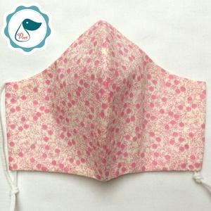 Egyedi mintás női maszk - textil szájmaszk - egészségügyi szájmaszk (Pindiart) - Meska.hu
