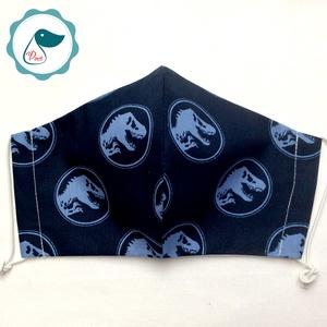 Egyedi Jurassic world mintás maszk - kiskamasz - textil arcmaszk - egészségügyi szájmaszk - mosható szájmaszk (Pindiart) - Meska.hu
