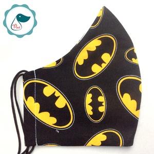 Egyedi batman logo mintás szájmaszk - férfi szájmaszk - textil szájmaszk - egészségügyi szájmaszk (Pindiart) - Meska.hu