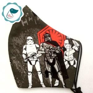 Egyedi star wars mintás - kiskamasz arcmaszk - textil maszk - egészségügyi szájmaszk - mosható szájmaszk (Pindiart) - Meska.hu