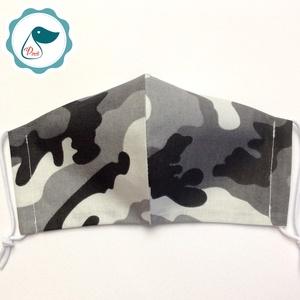 Egyedi terep mintás maszk - felnőtt női és teenager arcmaszk - textil szájmaszk - egészségügyi szájmaszk (Pindiart) - Meska.hu
