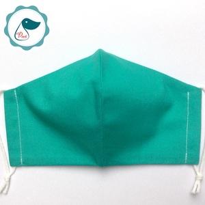 Egyedi egyszínű arcmaszk - felnőtt női és teenager maszk - textil szájmaszk - egészségügyi szájmaszk (Pindiart) - Meska.hu