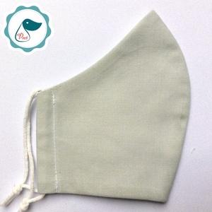 Egyedi egyszínű maszk - férfi arcmaszk - textil szájmaszk - egészségügyi szájmaszk (Pindiart) - Meska.hu