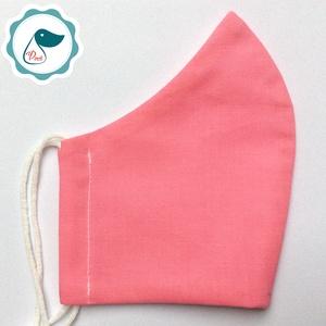 Egyedi egyszínű - kiskamasz szájmaszk - textil szájmaszk - egészségügyi szájmaszk - mosható szájmaszk - Meska.hu