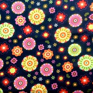 Egyedi virág mintás maszk - kiskamasz prémium textil arcmaszk - egészségügyi maszk - mosható szájmaszk - Meska.hu