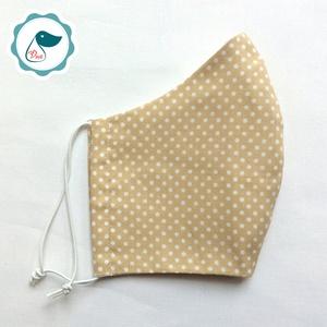 Egyedi dapp pöttyös maszk - kiskamasz szájmaszk - textil szájmaszk - egészségügyi szájmaszk - mosható szájmaszk - Meska.hu