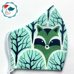 Egyedi macis maszk - gyerek textil arcmaszk - egészségügyi szájmaszk - mosható szájmaszk (Pindiart) - Meska.hu