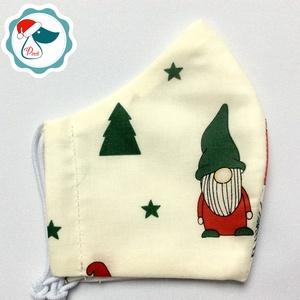 Egyedi manós maszk- kiskamasz arcmaszk - textil szájmaszk - egészségügyi szájmaszk - mosható szájmaszk (Pindiart) - Meska.hu