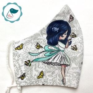 Egyedi maszk - kiskamasz arcmaszk - textil szájmaszk - egészségügyi szájmaszk - mosható szájmaszk (Pindiart) - Meska.hu