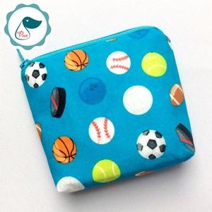 Egyedi labdás mintás neszesszer  - pénztárca, Táska & Tok, Neszesszer, Varrás, Meska