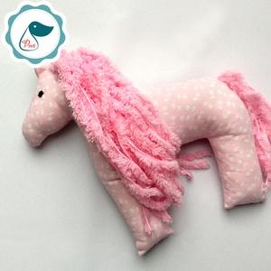 Lovacska - egyedi tervezésű kézműves játék - ló textiljáték  - játék & gyerek - plüssállat & játékfigura - cica - Meska.hu