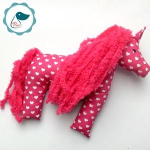 Lovacska - egyedi tervezésű kézműves játék - ló textiljáték  - Meska.hu