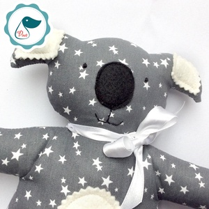 Coala - egyedi tervezésű kézműves játék - textiljáték - coalamaci - Meska.hu