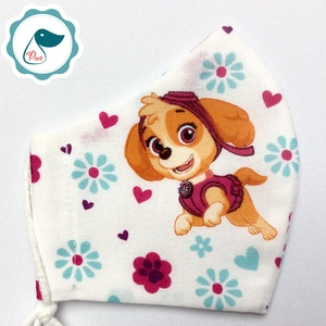 Egyedi mancsőrjáratos maszk - gyerek textil arcmaszk - egészségügyi szájmaszk - mosható szájmaszk - Meska.hu