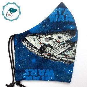 Egyedi star wars maszk - felnőtt női és teenager maszk - textil szájmaszk - egészségügyi szájmaszk, Maszk, Arcmaszk, Női, Varrás, Meska
