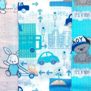Mintás -  prémium textil pelenka - maci mintáspelenka -  nyuszi mintás pelenka  - kisautó mintas pelenka - Meska.hu