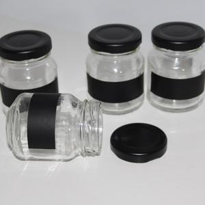 Egyszerű kicsi befőttes üveg (Pinkflamingo) - Meska.hu