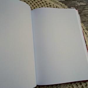 Piros epres, lekváros receptkönyv (PinkPoppy) - Meska.hu