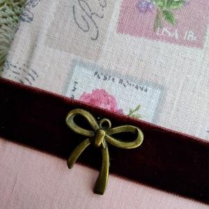 Rózsaszín vintage napló (PinkPoppy) - Meska.hu