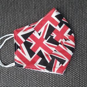 Brit zászlós, pamut szájmaszk - maszk, arcmaszk - férfi & uniszex - Meska.hu