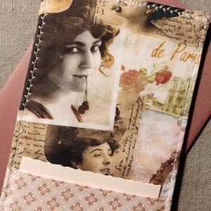 Nosztalgia fotós üdvözlőlap, textilkép, pénzboríték, Otthon & Lakás, Dekoráció, Kép & Falikép, Varrás, Születésnapra, névnapra, köszönetként, vagy csak úgy!\nPrémium minőségű nosztalgia fotós mintájú pamu..., Meska