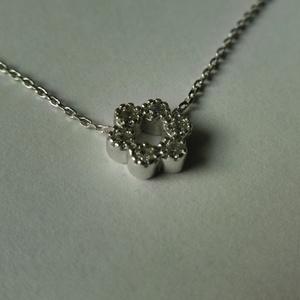 ezüst 6 köves nyakék , Ékszer, Medálos nyaklánc, Nyaklánc, Ékszerkészítés, Ötvös, Meska