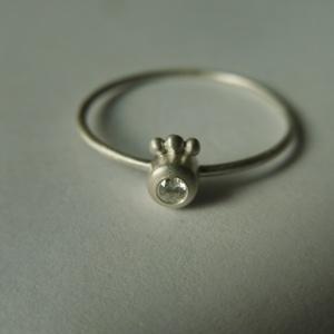 ezüst szem gyűrű, Ékszer, Vékony gyűrű, Gyűrű, Ékszerkészítés, Ötvös, Meska