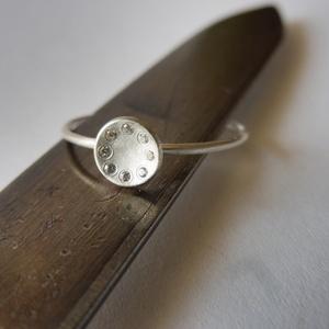 -30%  8 köves ezüst gyűrű    (piroekszer) - Meska.hu