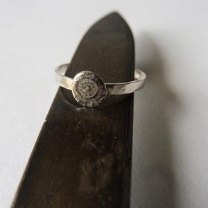 -30%  antik stítusú kalapált gyűrű    (piroekszer) - Meska.hu