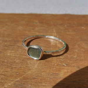 ezüst turmalinos gyűrű - Meska.hu